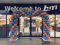 Balloon Arch for B&M in Lowestoft